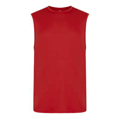 Cool Smooth Sports Vest In Fire Red
