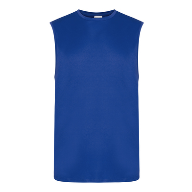 Cool Smooth Sports Vest In Royal Blue