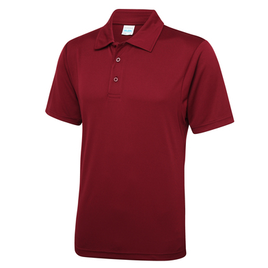 Cool Polo In Burgundy