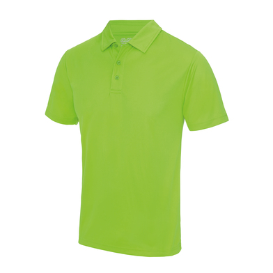 Cool Polo In Electric Green