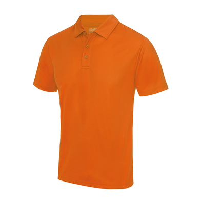 Cool Polo In Electric Orange