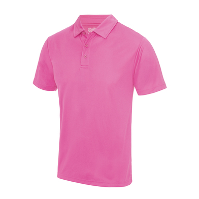 Cool Polo In Electric Pink
