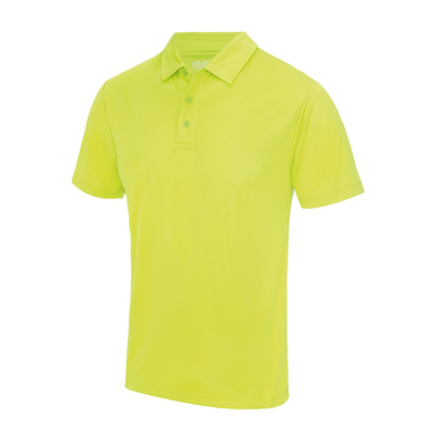 Cool Polo In Electric Yellow