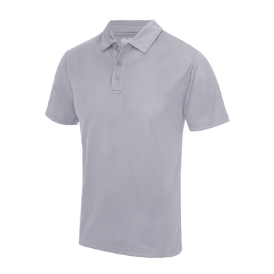 Cool Polo In Heather Grey