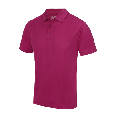 Cool Polo In Hot Pink