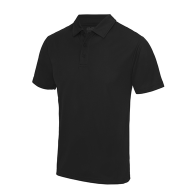 Cool Polo In Jet Black