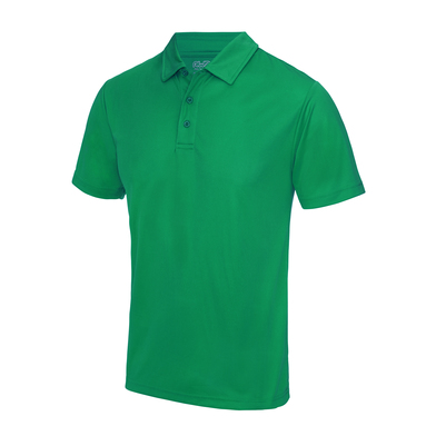 Cool Polo In Kelly Green