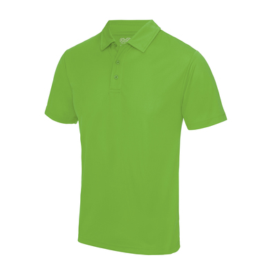 Cool Polo In Lime Green