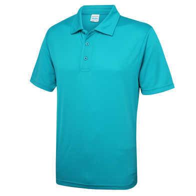 Cool Polo In Turquoise Blue