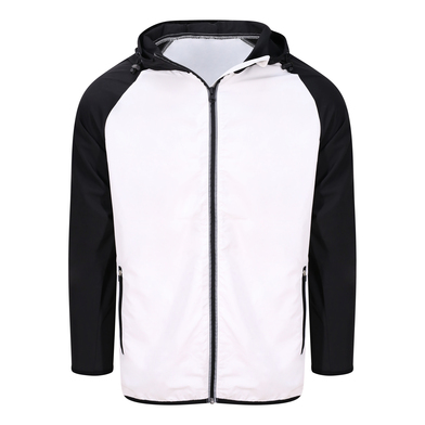 Cool Contrast Windshield Jacket In Arctic White/Jet Black