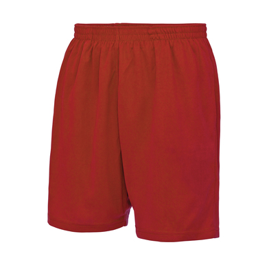 Cool Shorts In Fire Red