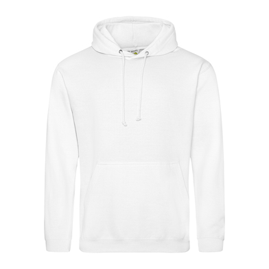 College Hoodie In Arctic White