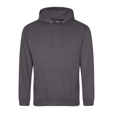 College Hoodie In Charcoal