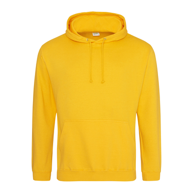 College Hoodie In Gold