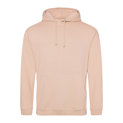 College Hoodie In Peach Perfect