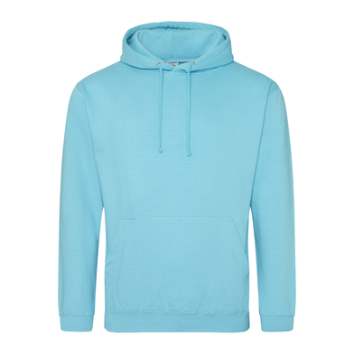 College Hoodie In Turquoise Surf
