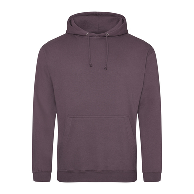 College Hoodie In Wild Mulberry