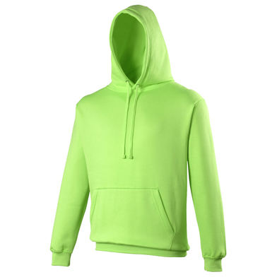 Electric Hoodie In Electric Green