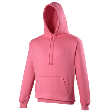 Electric Hoodie In Electric Pink