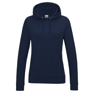 Girlie College Hoodie In New French Navy