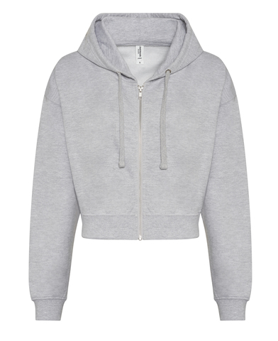 AWDis Just Hoods - Women's Fashion Cropped Zoodie