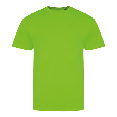 Electric Triblend T In Electric Green