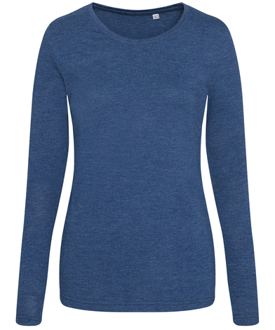 AWDis Just T's - Women's Triblend T Long Sleeve