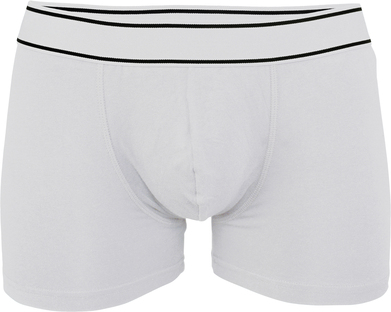 Boxer Shorts In White