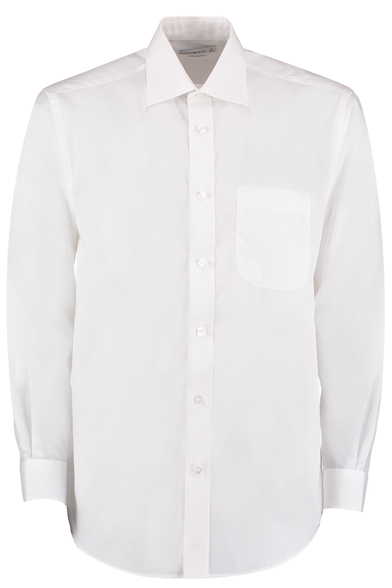 Business Shirt Long-sleeved (classic Fit) In White