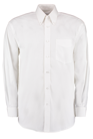 Corporate Oxford Shirt Long-sleeved (classic Fit) In White