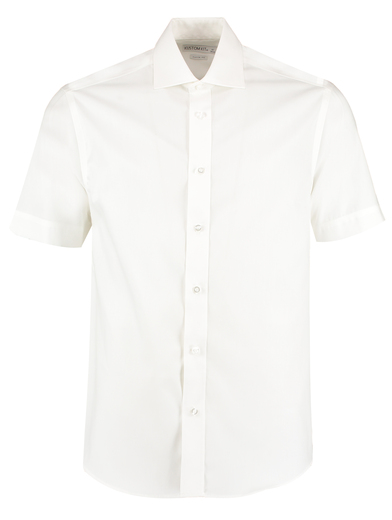 Executive Premium Oxford Shirt Short-sleeved (classic Fit) In White