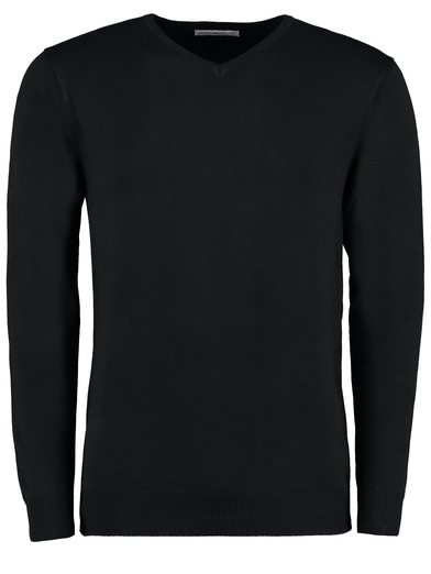 Arundel V-neck Sweater Long Sleeve (classic Fit) In Black