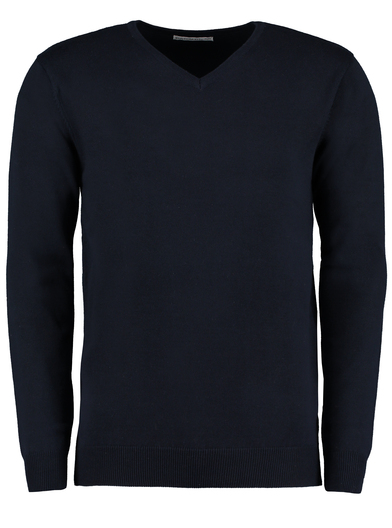Arundel V-neck Sweater Long Sleeve (classic Fit) In Navy
