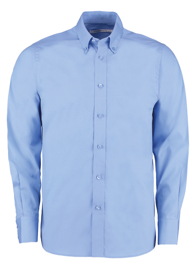 City Business Shirt Long-sleeved (tailored Fit) In LightBlue