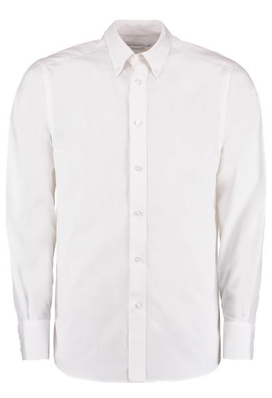 City Business Shirt Long-sleeved (tailored Fit) In White