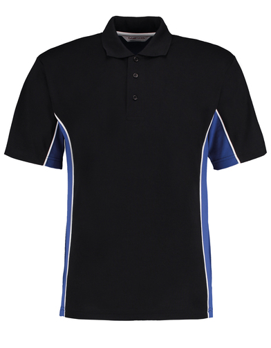 Gamegear Track Polo (classic Fit) In Black/Royal/White