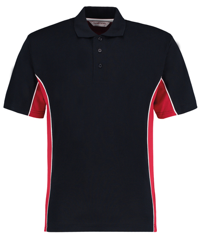 Gamegear Track Polo (classic Fit) In Navy/Red/White