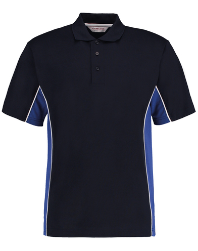 Gamegear Track Polo (classic Fit) In Navy/Royal/White