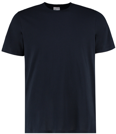 Cotton Tee (fashion Fit) In Navy