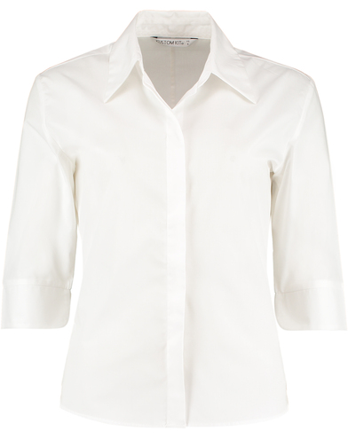 Contiental _ Sleeve Blouse Womens In White