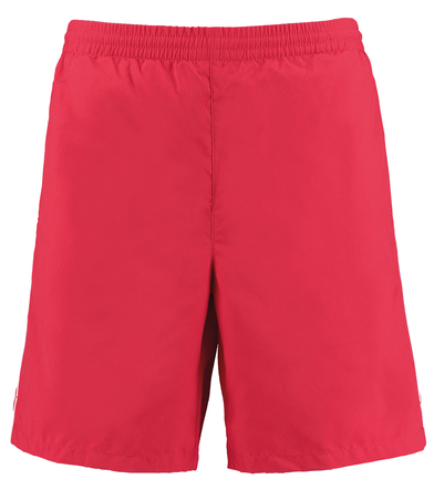 Gamegear Track Short (classic Fit) In Red/White