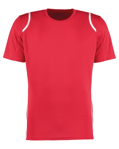 Gamegear Cooltex T-shirt Short Sleeve (regular Fit) In Red/White