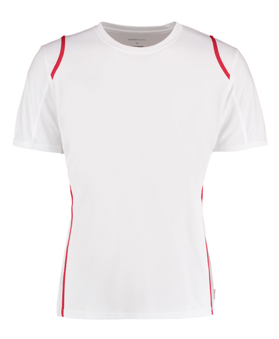Gamegear Cooltex T-shirt Short Sleeve (regular Fit) In White/Red