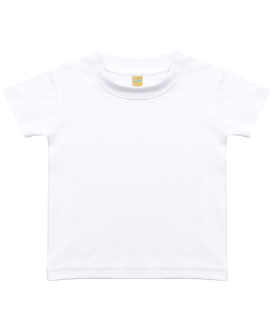 Baby/toddler T-shirt In Sublimation White