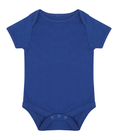 Essential Short-sleeved Bodysuit In Royal