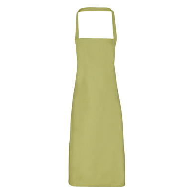 100% Cotton Apron - Organic Certified In Lime