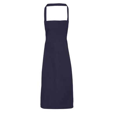 100% Cotton Apron - Organic Certified In Navy