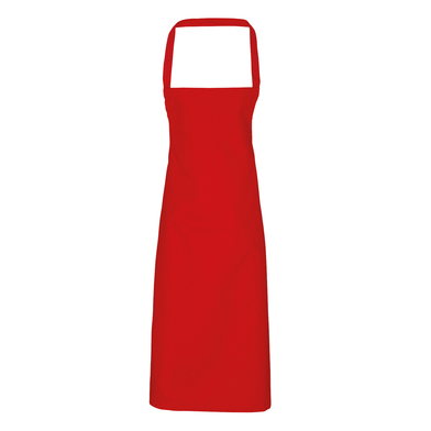 100% Cotton Apron - Organic Certified In Red
