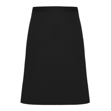 Cotton Waist Apron, Organic And Fairtrade Certified In Black