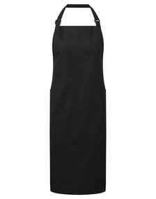 Recycled Polyester And Cotton Bib Apron, Organic And Fairtrade Certified